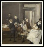 The Children of Francois Van Rysselberghe, 1885