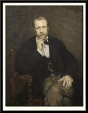 Portrait of the Artist Jean Capeinick, 1881