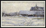 Snow-Covered Village, 1892