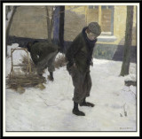 Child with a Sledge