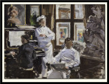 The Pastry Chefs or The Vanaise Brothers (study)