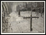 Rope-Makers on the Ramparts or Snow-Covered Nieuwpoort, 1895