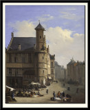 The 'Toreken' on the Vriidagmarkt in Ghent, 1845
