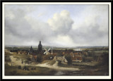 Panoramic View of a Town, 1865
