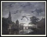Dutch Town by Moonlight, 1826