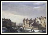 Winter Scene in Ghent, 1838