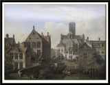 St Bavo's Cathedral and the Reep in Ghent, 1831