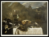 Still Life with a Rummer and Pastry, 1634