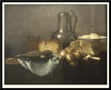 Still Life with Fish, Bread and Onions, 1653