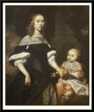 Portrait of a Woman and Child, 1667