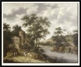 River Landscape with Horsemen, 1667