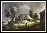 Landscape with a Farmhouse,1645