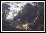 The Forest of Soignes with Figures
