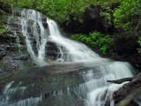 waterfall on Bee Cove Creek