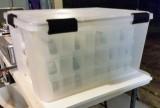 Container Store 62 qt Weatherproof Bin