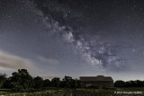 The Milky Way over a Beckwith Township Barn