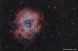 Take 2: Rosette Nebula NGC 2244 (a.k.a. Caldwell 49, SH 2-275, and CTB 21)