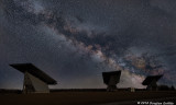 Early Morning Milky Way over Beckwith Township Solar Site