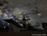 Early Morning Milky Way over  Beckwith Township Solar Structure