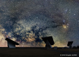 A Different Perspective: Milky Way over a Beckwith Township Solar Site