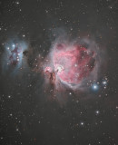 Think Space is Clean? Think Again! - Part 2: Messier 42 (M42); Messier 43 (M43); and The Running Man Nebula (NGC 1977)