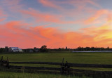 Vivid Sunset over Beckwith Farm