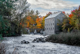 Cool Fall Morning: Watson's Mill