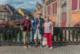 Tourists in Colmar