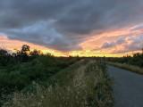 Sunset at Ulistac Natural Area