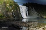 Chutes Montmorency (hauteur 84 mètres) Montmorency Falls ( 272 feet
