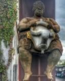 Sculpture at Apartment Complex