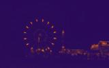 Purple Ferris Wheel