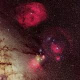 Rho Ophiuchi and Gum Nebula