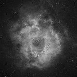 The Rosette Nebula in Hydrogen Alpha