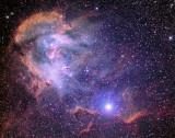 IC2944 The Running Chicken Nebula