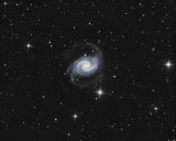 NGC1566 Spiral Galaxy The Spanish Dancer