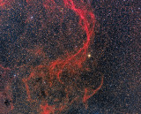 RCW114 supernova remnant crop view