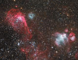 Seagull Nebula LMC alternate