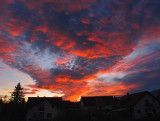 Explosive sunset...