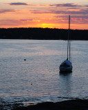Boothbay, Maine Sunset