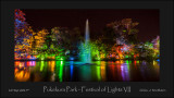 Pukekura Park - Festival of Lights VII