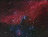 NGC 2327 with VDB 88