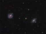 NGC 5101 and NGC 5078