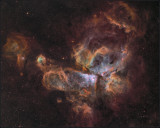 Eta Carina nebula wide field
