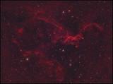 The Klingon bird of Prey nebula