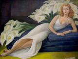 Natasha Gelman by Diego Rivera - 1943