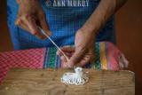 Making alfeñique sheep