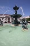 Lisbonne - Place Dom PEdro IV
