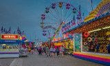 Night Falling on the Midway