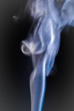 A Vision of an Angel in Smoke
